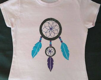 """Dreamcatcher"" girl t-shirt"
