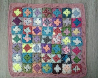cushion crochet granny squares