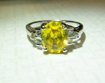 Bright Yellow Ring.