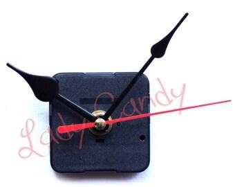 Kit Complet Mécanisme Horloge Mouvement Aiguilles Pendule Montre 80 mm #210076C