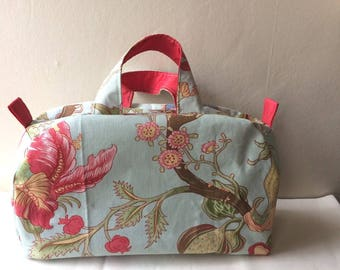 Toiletry bag in canvas Mayenne