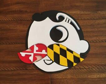Maryland Natty Boh Multi Dimensional sign