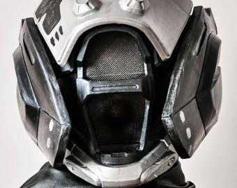 Painted and wearable Warlock's helmet Hood of Exodus