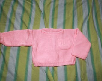 Pale pink jacket with Pocket 3 months