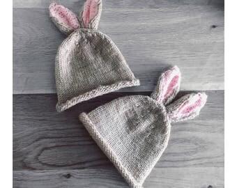 newborn bunny hat.