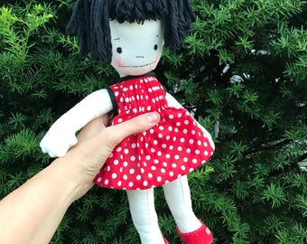 Who doesn't love a quirky cloth doll?
