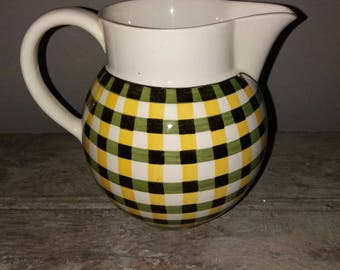 Beautiful Villeroy & Boch Glasgow Jug,Made In France,French Tableware,Milk Jug,Glasgow Design,Pitcher,Gift,Collectible,French Kitchenware