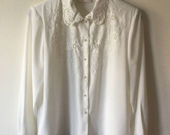 Vintage Christie And Jill Blouse