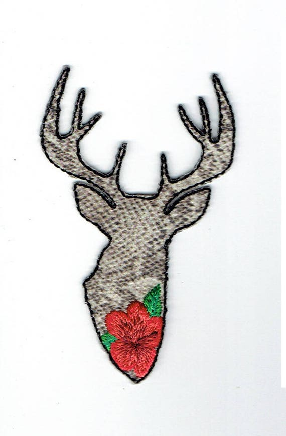 "Patch fusible trend design ""Deer"""