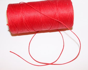 Polyester yarn red, 5 m