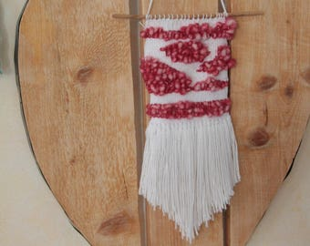 woven wall hanging for decor Bohemian chic