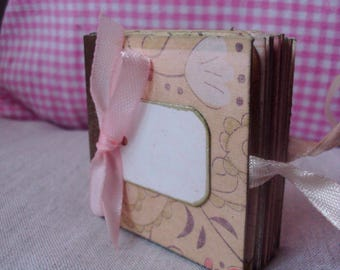 """Micro book """"Banquet spring"""" with tags"""