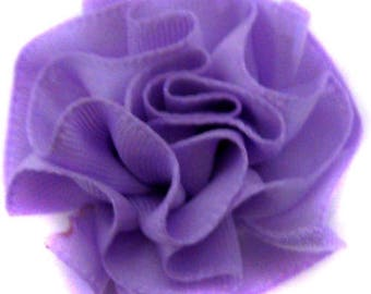 5xFleur rosette lilac sewing or craft.