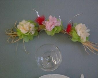 Pastel flower Crown