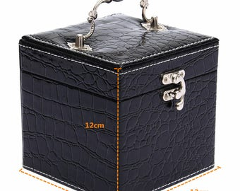 1 box display jewel black 12 x 12 cm