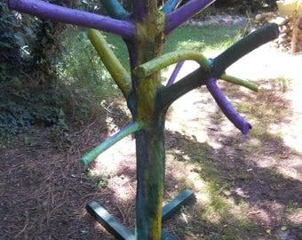 Kids coat rack or garden decoration