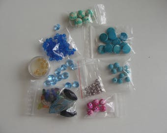 promotional set items assortment beads new destock