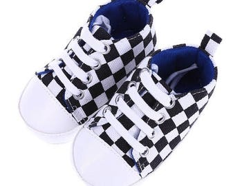 Baby Checkered Sneakers