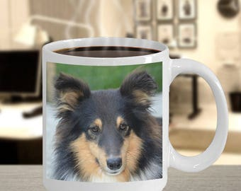 Collie Coffee Mug for Him or Her