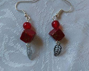 Earrings beads