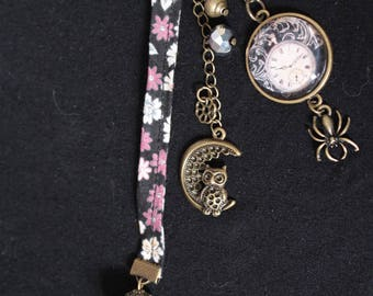 Jewelry bag/key chain Old times