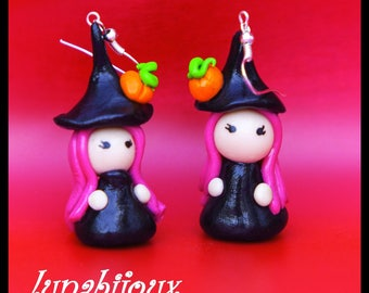 Halloween witch halloween jewelry earring