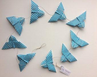 Origami butterflies Garland
