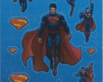 STICKERS for computer * SUPERMAN * plank: 12.5 cm x 7,5 cm EAN 3045677575380