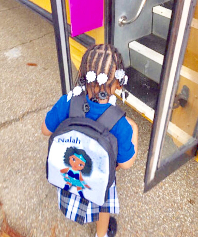 Melanin Black Girl Magic Wonder Woman Inspired Custom Backpack Style VI  (tshirt teeshirt coming soon 7371c65c05444