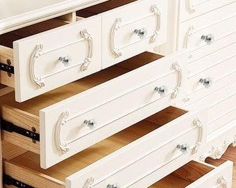 ON SALE Glass Knobs/Knobs/Cabinet Knobs-/Dresser Knobs/Drawer Pulls/Knobs/Shabby Chic/Knob/Shabby Chic Knobs/Drawer Knobs/Nursery/Pulls