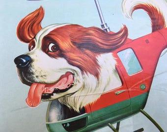 Walt Disney Productions 1972 Italian Movie Poster