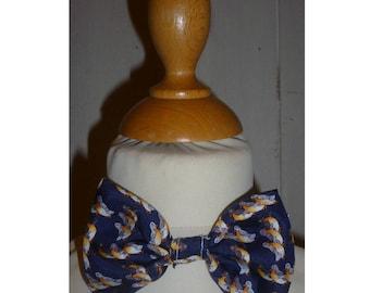 Bow tie boy printed birds