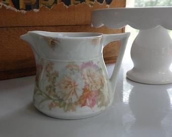 Vintage Bavarian Creamer,Floral Creamer,Made in Bavaria