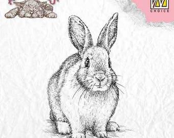 "Stamp ""rabbit"" _ANI012 clear"