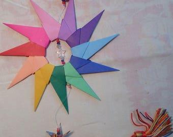 Mandala origami Garland