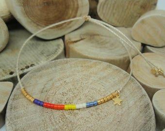 "Bracelet ""Miyuki Rainbow"" Marta"