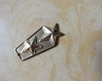 Brass star charm