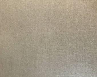 A5 paper deco textured effect woven Pearl scrapbooking - beige / cream