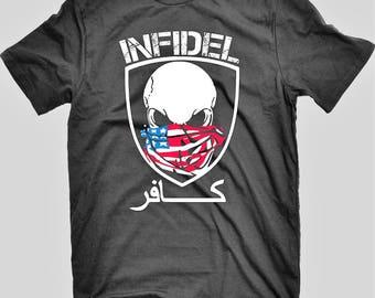 USMC INFIDEL T-shirt