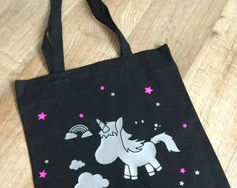 Tote bag, tote bag all customizable name