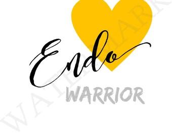 Endo Warrior Print A4 Art Instant Download