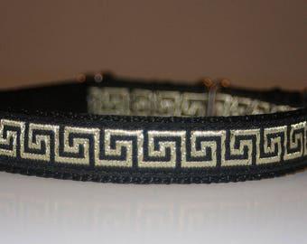 Dog Collar +Special price+Jacquard Ribbon  Design Pet accessories fashion