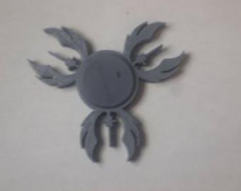 3D Printed Jedi Knight Fidget Spinner by TopazDesignz