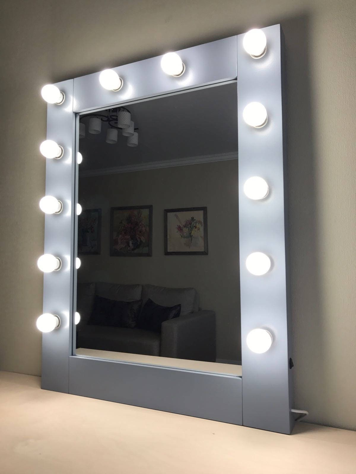Vanity Mirror With Lights Hollywood Makeup Mirror Bulbs