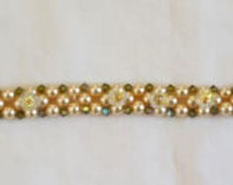 Swarovski bead bracelet