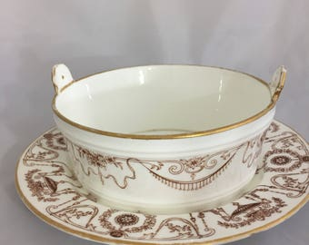 Mintons Vintage gravy boat estimated period date