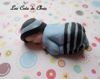 baby boy Pajamas fimo.