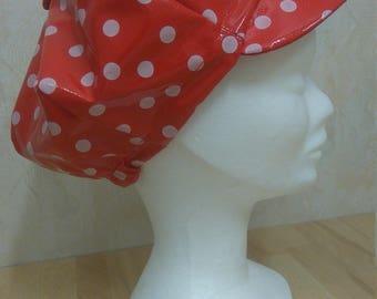 Rain newsboy cap