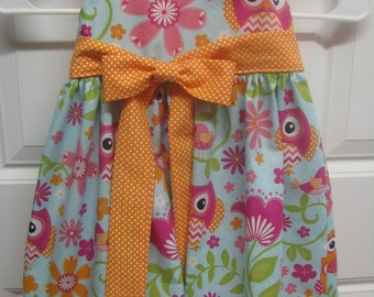 Owl Dress with Bloomers