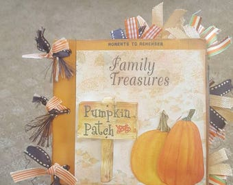 Fall Family Pre-Made Scrapbook